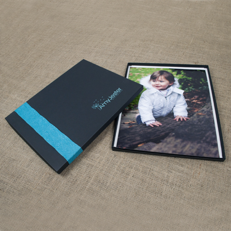 "11x14x1/2"" Black Kraft Box - Mini case of 25"