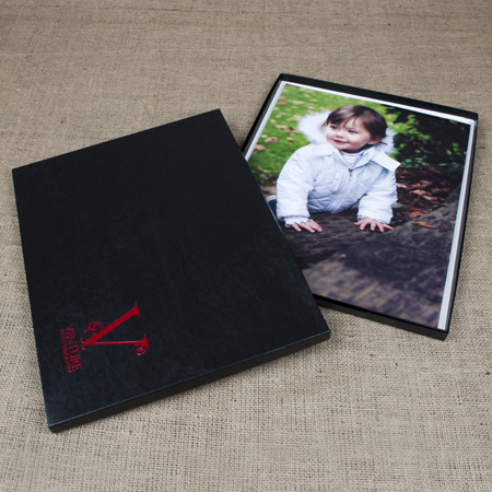 "11x14x1/2"" Glossy Black Box - Mini case of 25"