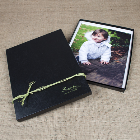 "11x14x1"" Glossy Black Box - Full Case of 30"