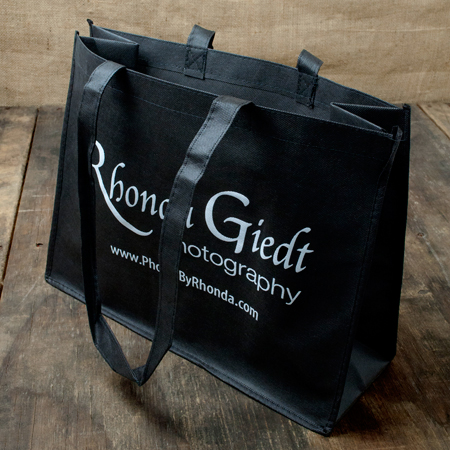 "16""x12""x6"" Black Album Bag"