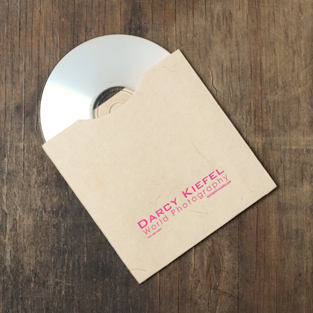 25 - Artisan Natural CD Sleeves with logo