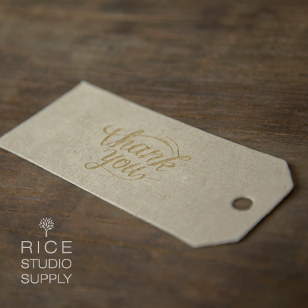 Artisan Natural Tags