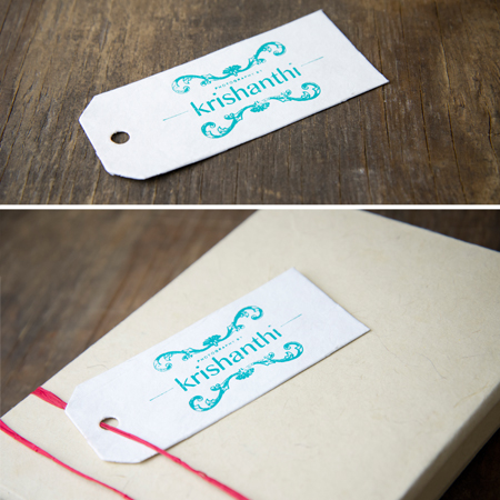Artisan White Tags