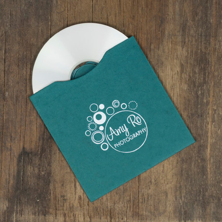 25 - Artisan Peacock CD Sleeves with logo