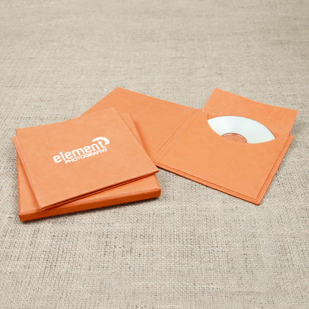 Artisan CD Folio Papaya Single