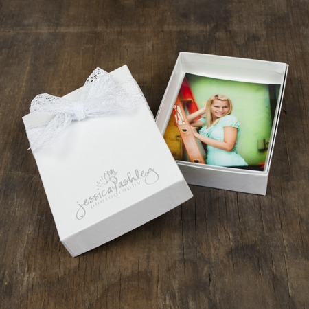 "4x6x1"" Glossy White Box - Mini case of 25"