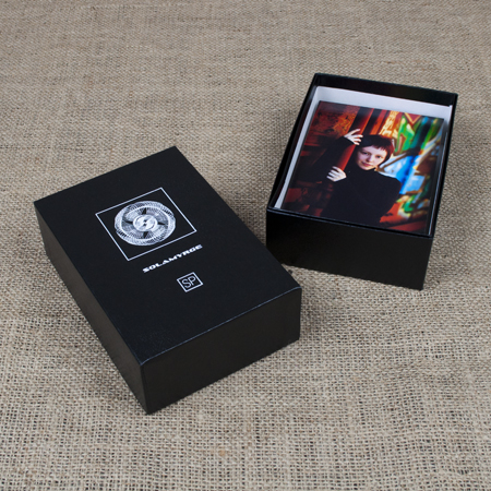 "4 x 6 x 2.5"" Glossy Black Box - Full case of 50"