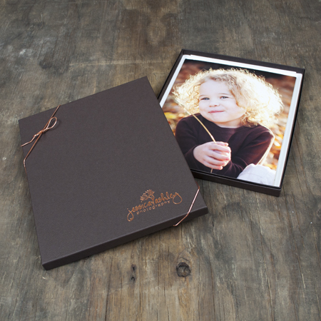 "8x10x1/2"" Espresso Box - Full case of 50"