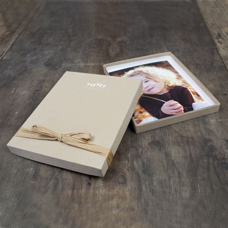 "8x10x1"" Kraft Box - Full case of 30"