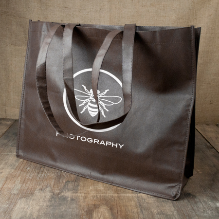 Large Tote Bags - Chocolate
