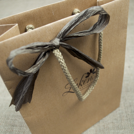 Chocolate Paper Ribbon