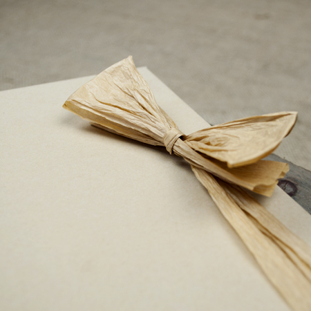 Natural Kraft Paper Ribbon