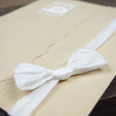 White Paper Ribbon