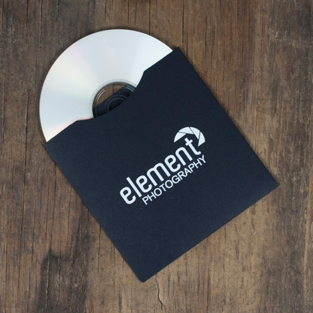 25 - TAP Ebony CD Sleeves with logo