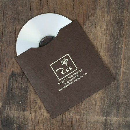 25 - Artisan Cocoa CD Sleeves with logo