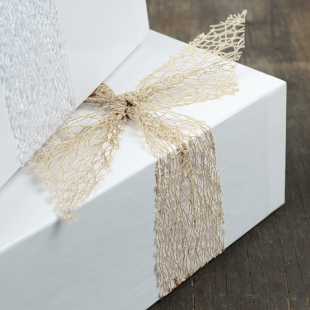 Mesh Ribbon - Cream